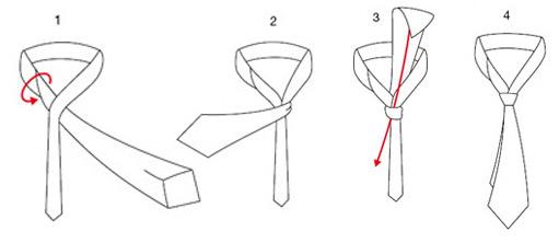 Nudos de corbata c mo hacerlos el amigo del gorri n for Pasos para hacer nudo de corbata